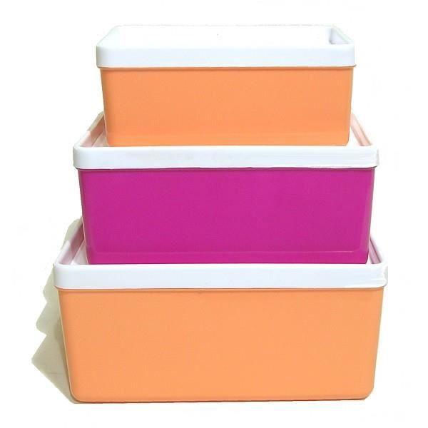 3 boites plastique rectangulaires avec couvercle herm tique 0 4 l 0 8 l 1l2 achat vente. Black Bedroom Furniture Sets. Home Design Ideas