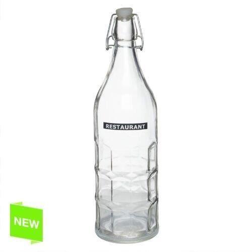 bouteille d 39 eau verre 1 lit squares achat vente pichet carafe cdiscount. Black Bedroom Furniture Sets. Home Design Ideas