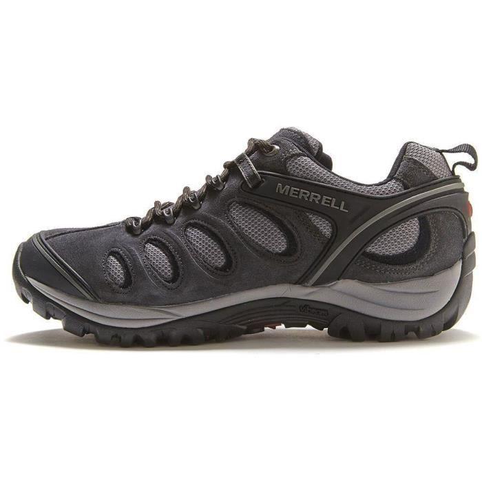Merrell Chameleon 5 Ventilator Chaussures de randonnée à Carbon Gris et Noir J39941 Gris