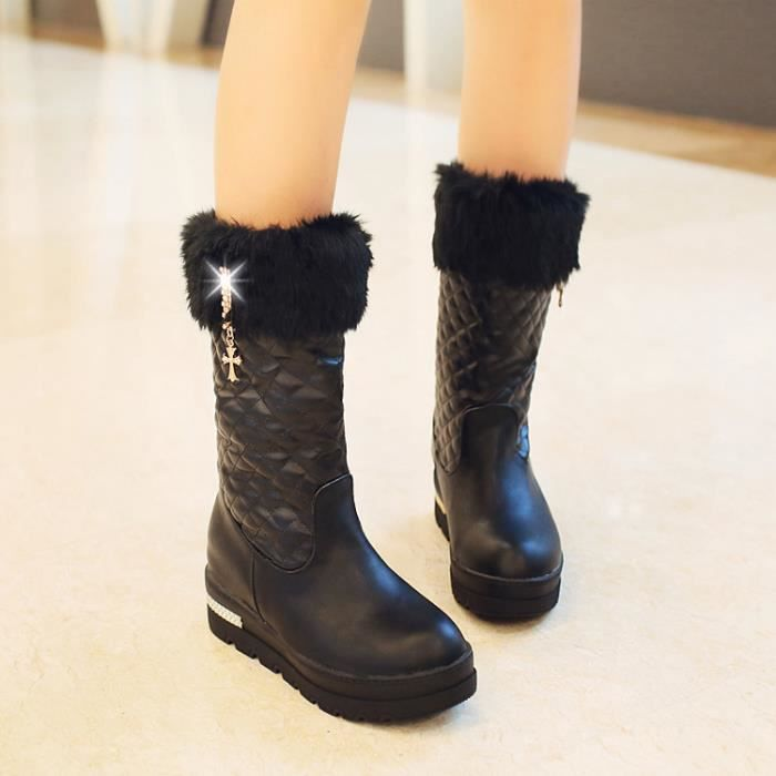 martin boots-Pure Color int rieur Heighten D co...