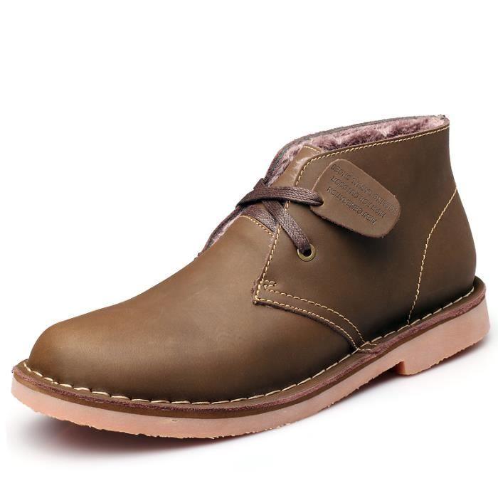 Martin Bottes Hommes Femmes Sport Tenir Chaussures chaudes