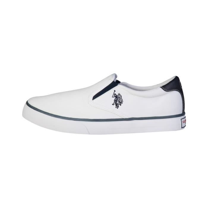 cfd701af51d492 U.S. Polo Sneakers homme - GALAN4154S5_CL9 Blanc Blanc - Achat / Vente  basket - Soldes*