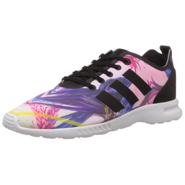 meilleur service 15f55 98e5e Adidas zx flux smooth pour femmes, baskets 3RAH5O Taille-36 1-2