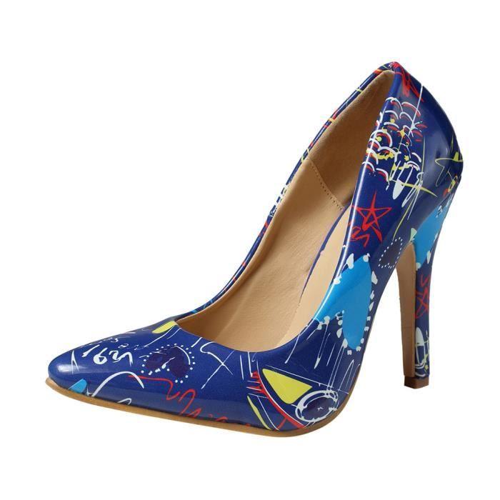 Chaussures Femmes De Sauvages Pour Talons Peu Simple Hauts À Profondes Pointu Stiletto rqCw4rgX