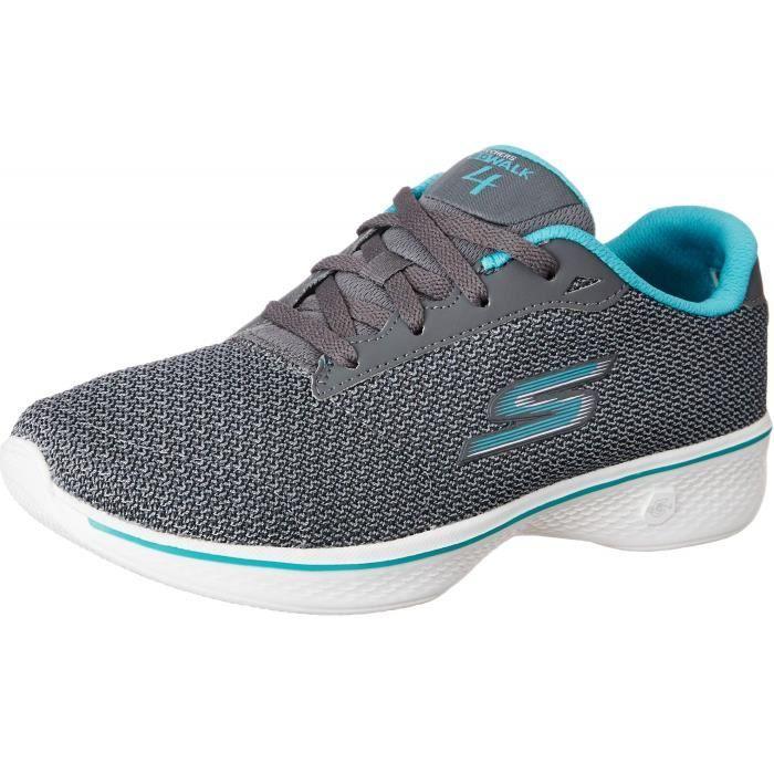 livraison rapide usine authentique boutique officielle SKECHERS chaussures de marche nordique pour femme 1JMRSA Taille-37