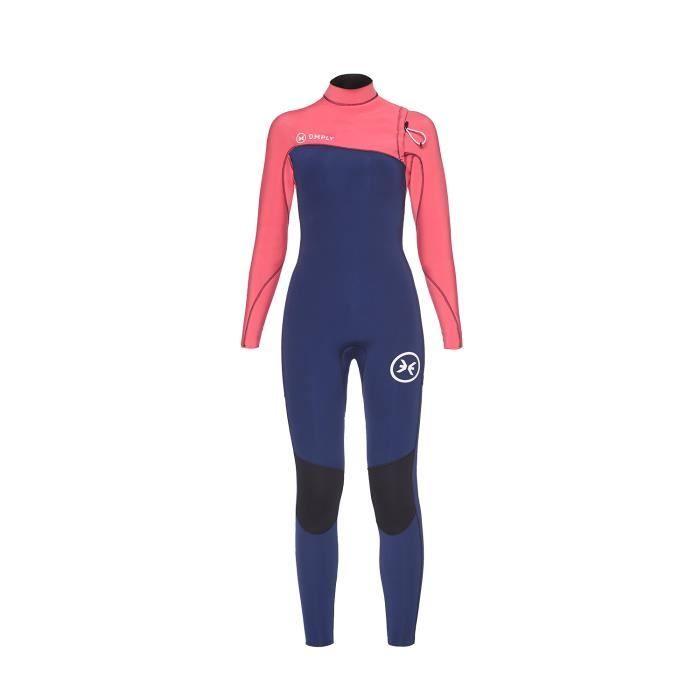 Deeply Combinaison De Surf Femme Competition 43 Zipperless Bleu Marine Taille Xs