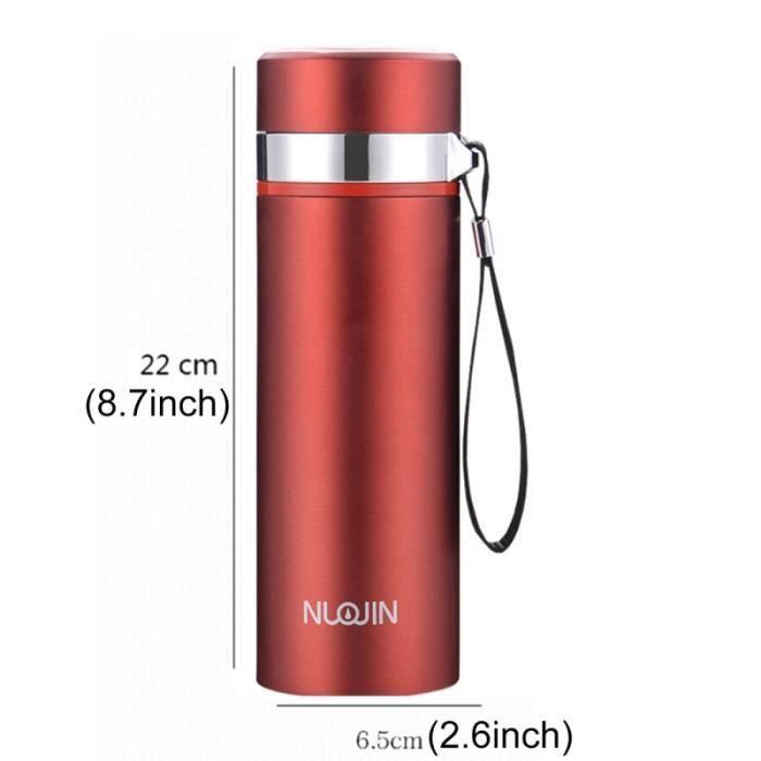mug isotherme tasse à café et rouge bouteille isoltation thermique
