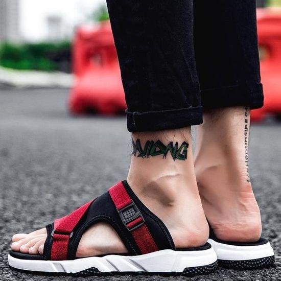 Hommes Été La Nouveaux Simple Occasionnelles Mode Sandales Créatif De Chaussures 2018 51qfxwZ1