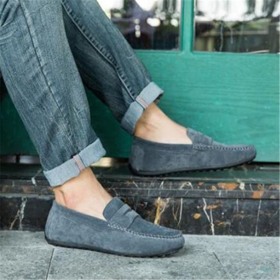 Loafer Hommes Grande Luxe Homme Chaussures Confortable Marque De qXRInBaw