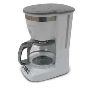 TECHWOOD TCA-991 Cafeti?re filtre programmable - Blanc