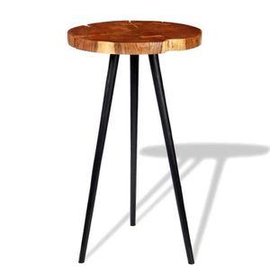 MANGE-DEBOUT TABLE DE BAR style contemporain-DEBOUT Bois d'acac
