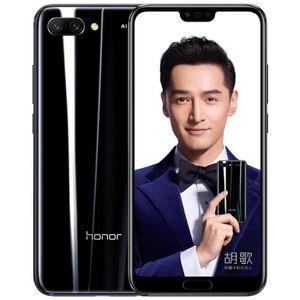 SMARTPHONE Honor 10 Noir-128Go-AI Face ID-Empreinte Digitale-