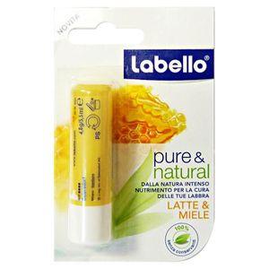 BAUME SOIN DES LÈVRES LABELLO Pure & Nat.Latte - 85011 Miel Baume à lèvr