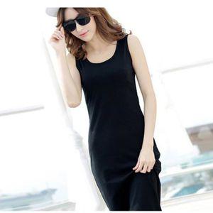 Vente robe droite noire