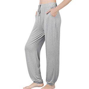 ecff6eacf14 PANTALON Pantalon de pyjama pour femmes en coton stretch Lo