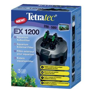 FILTRATION - POMPE TETRA Filtre extérieur EX 1200 plus pour aquarium