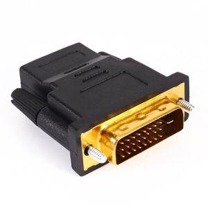 ALIMENTATION DVI-D 24 + 1 pôles mâle Adaptateur convertisseur p
