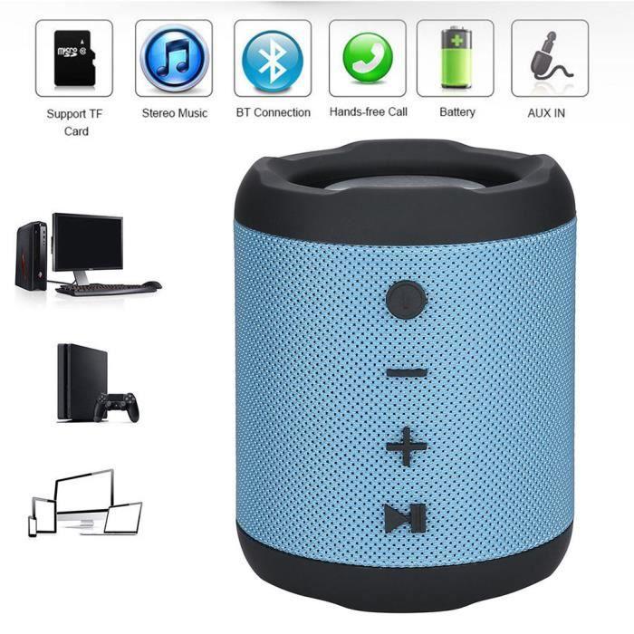 Enceinte Nomade - Haut-parleur Portable Mobile Bluetooth M2