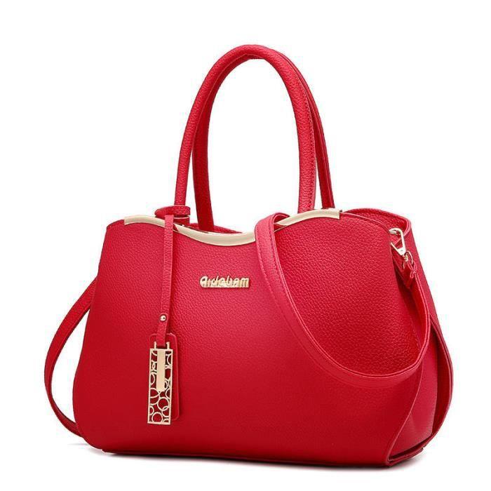 sac a main femme de marque Nouvelle mode sac femme de marque sacs designer rouge Sac à main dépaule des 2017 qualité supérieure