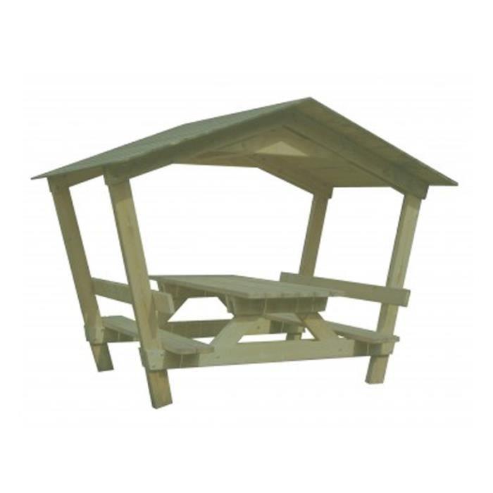 Table avec toit Castor - Achat / Vente table de jardin Table avec ...