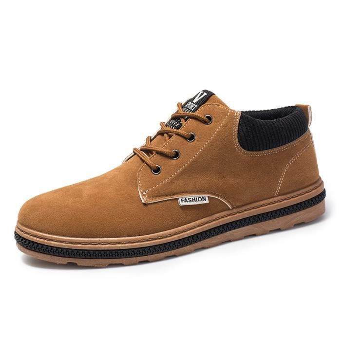 Mocassins Chaussures Cuir Classic Suede Oxford Homme