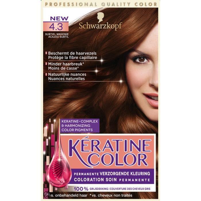 Keratine pour cheveux application