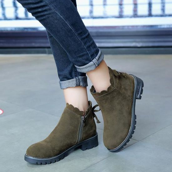 Court Pageare5125 Wedge Bottes Bottines Femmes Low Chaussures Papillon Mode nwXP0O8k