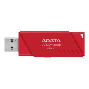 DISQUE DUR SSD ADATA UV330 Clé USB 128 Go USB 3.1 rouge