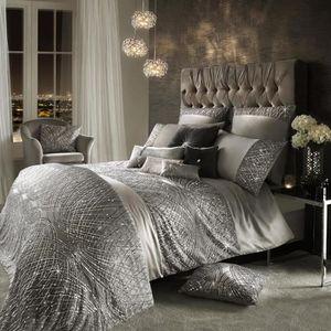 Jete De Lit Argent 100 X 220 Cm Collection Kylie Minogue Esta