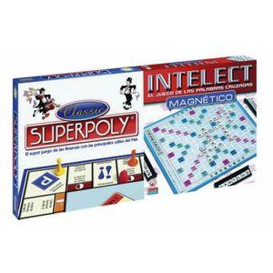JEU SOCIÉTÉ - PLATEAU Superpoly + Intelect magnetique