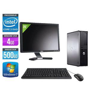 ORDINATEUR TOUT-EN-UN Pc de bureau Dell 780 - 2,93GHz - 4Go - 500Go + Ec