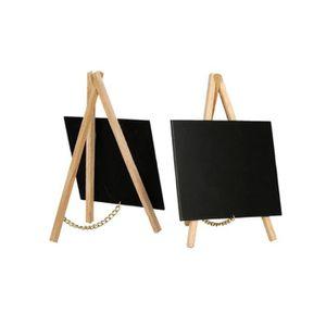 CHEVALET DE TABLE Mini chevalet de table avec trépied en bois dimens