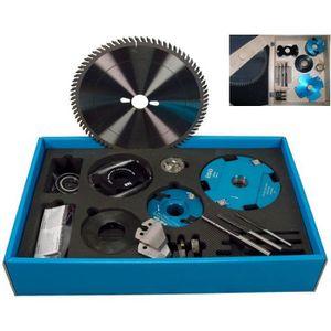 ACCESSOIRE MACHINE Coffret d'outils de toupillage MaxiSpécial et lame