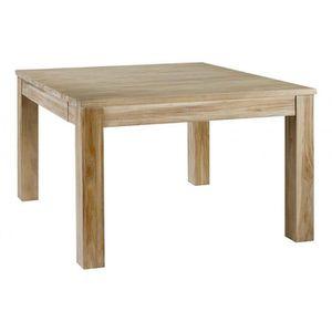 Vente Carree Table Pas Achat Cher 120x120 cq35RSjLA4