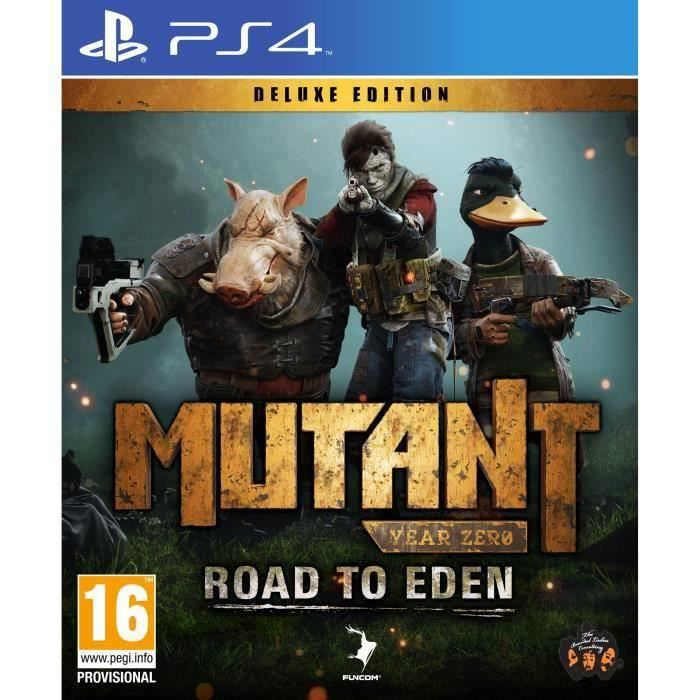 JEU PS4 Mutant Year Zero Road to Eden Deluxe Edition Jeu P
