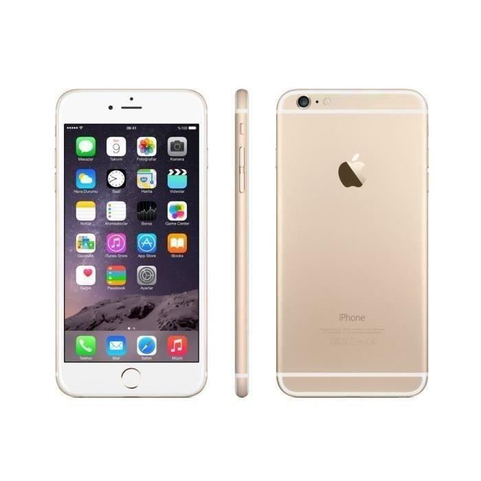 f2d449f43709be APPLE Iphone 6 Plus 16GO Or - Reconditionné à neuf - Achat ...
