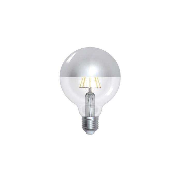 Ampoule Globe Vintage calotte argentée 95mm - Achat / Vente ...
