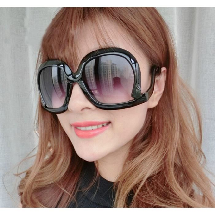 Continental Mme lunettes de soleil rétro grosses lunettes de soleil de la  boîte Superman nécessaire versez verres 8a66a4103593