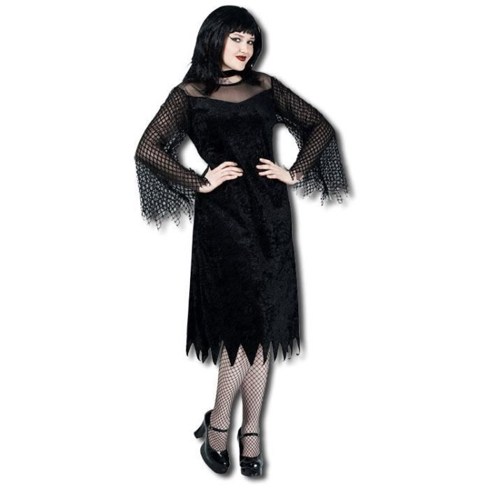 Vamp Robe manches en maille Costume XL