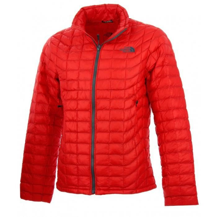 acheter pas cher 8729e 03b43 Doudoune The North Face Thermoball (Rouge) - Ref. T0CMH065J ...