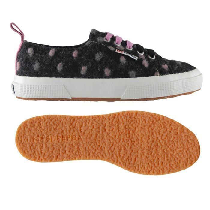 Chaussures 2750-WOOLPOISW pour femme, style classique, imprimé à pois