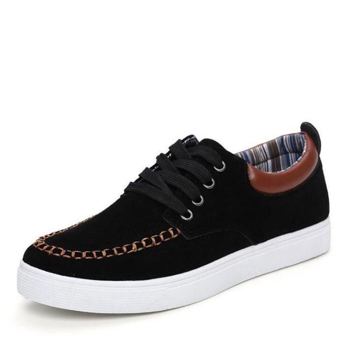 Luxe Chaussures sur Glisser Hommes Grande plein Sneaker la Léger pour Moccasin De Taille Marque air De Poids de mode 44 à Homme 6qXU7