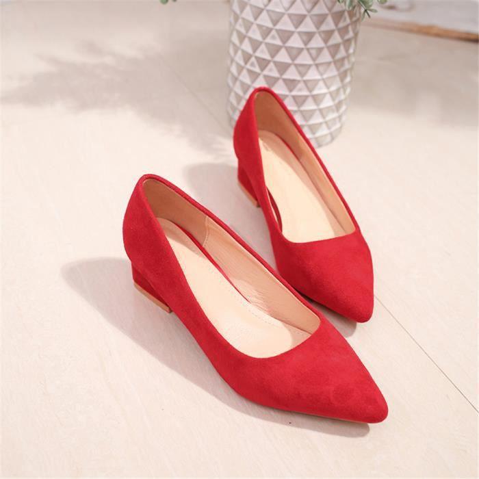 Classique Extravagant Couleur Chaussure De Escarpin Luxe Plus 33 41 Marque Mode Léger Femmes tsdCxQrh