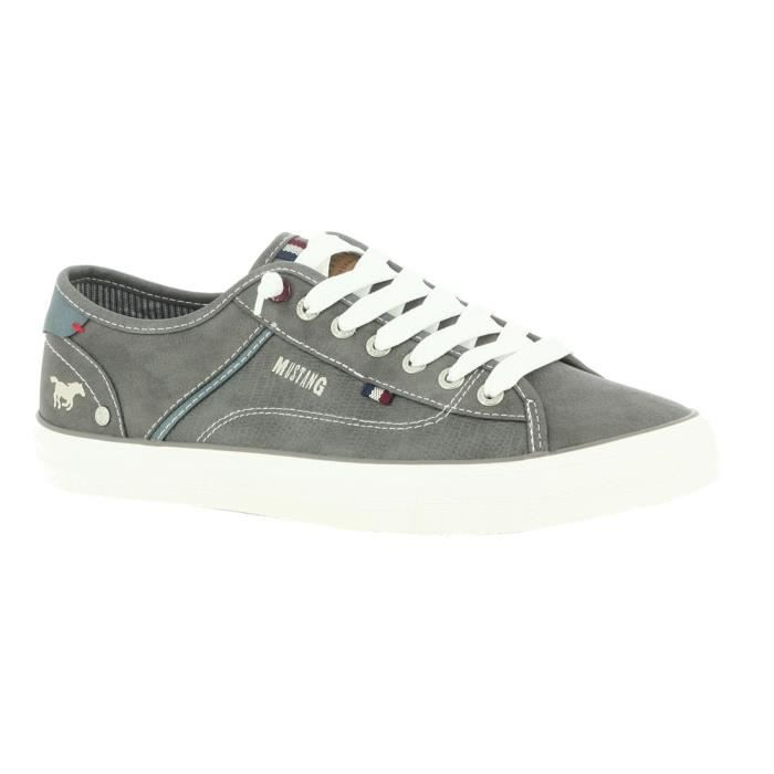 Chaussures Homme Mustang Shoes 4127 303 20 Gris - Basket Homme cq0r2