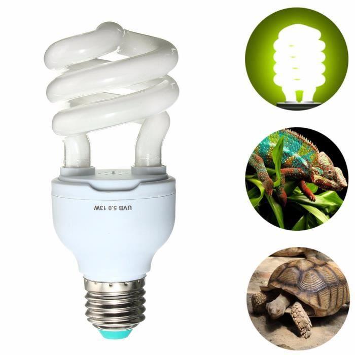 5 0 5 0 10 0 Uvb 13w Ampoule Uv Reptile Lampe Glow Pour Vivarium