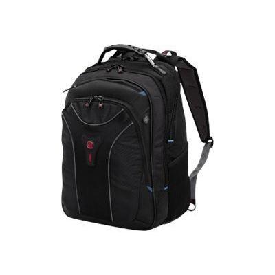 swissgear carbon backpack sac dos pour ordina noir. Black Bedroom Furniture Sets. Home Design Ideas