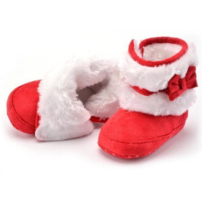 Minetom Coton Chaussures Bébé Fille Keep Warm Soft Sole Bottes De Neige Crèche Chaussures Toddler Bottes Hiver Bootie Shoes vzR7yX
