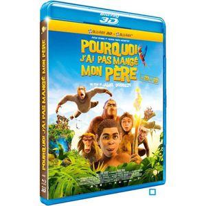 BLU-RAY DESSIN ANIMÉ Blu-Ray 3D Pourquoi J'ai Pas Mangé Mon Père