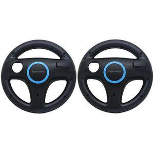 VOLANT JEUX VIDÉO Volant de course 2Pcs Racing Steering Wheel pour N