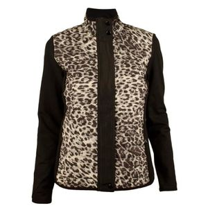 PONCHO Ralph Lauren Quilted-Front animal-Print Jacket Hau ddeb2d7d1155